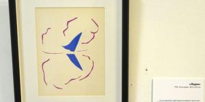 17 октября 1961 года В Нью-йоркском Музее современного искусства была выставлена картина Анри Матисса «Лодка» вверх ногами