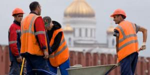 Большинство россиян выступило против притока трудовых мигрантов