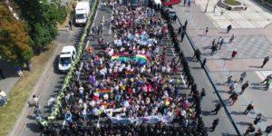«Марш равенства» в поддержку ЛГБТ-сообщества в Киеве: стычки и массовые задержания