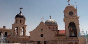 Российские военные доставили гуманитарную помощь в православный монастырь под Дамаском
