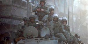 Российские бронетанковые подразделения развернуты вдоль Сирийско-Иорданской границы