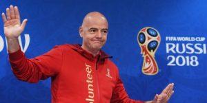 Инфантино назвал чемпионат мира в России лучшим в истории