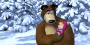Британские СМИ разглядели в мультсериале «Маша и Медведь» тайное оружие Путина