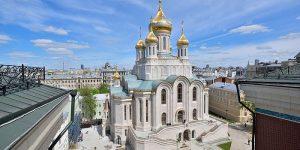 Патриарх Кирилл освятил в Москве собор памяти погибших за веру в советские годы