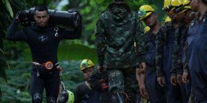 Спасение детей из пещеры в Тайланде. Видео. Последние новости, подробности 10 июля 2018