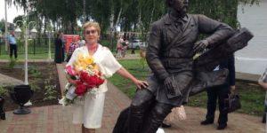 В ярославском селе поставили памятник Некрасову