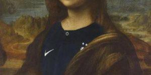 Мону Лизу «переодели» в форму сборной Франции в честь победы на ЧМ