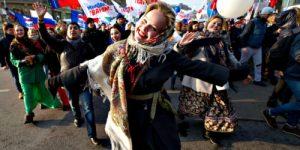 Россияне счастливее жителей других стран