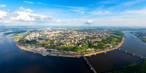 22 октября 1990 года Нижнему Новгороду возвращено его историческое имя