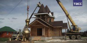 Храм в честь Николая Чудотворца освятили на Урале в дни принесения мощей святого в Москву