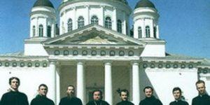 Архиерейский хор Нижегородской епархии «Русь называют святою...». Видео