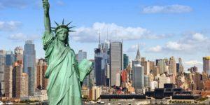 13 сентября 1788 Нью-Йорк провозглашен столицей США