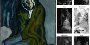 Пабло Пикассо создал картину на рисунке другого художника