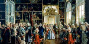 Как развлекалась Екатерина II