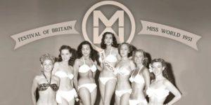 1951 год —  первый конкурс «Мисс Мира» в Лондоне
