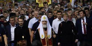 Крестный ход в день 100-летия гибели царя Николая II и его семьи прошли 100 тысяч верующих