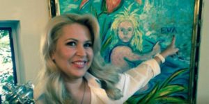 Талантливая современная художница EVA, она же Евгения Васильева (та самая)