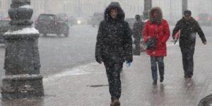 Лето и зима встретились в европейской части России
