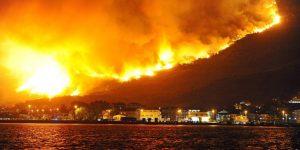 В Хорватии и Черногории бушуют лесные пожары: видео