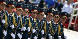 Военные Туркестана впервые будут участвовать в параде в честь 75-летия Победы