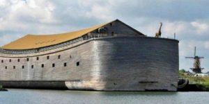 Нидерландский плотник построил полномасштабную копию Ноева ковчега и теперь хочет плыть в Израиль
