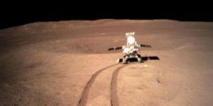 Китайский луноход сделал открытие на обратной стороне Луны