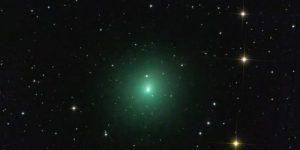 В небе появилась комета размером с Луну