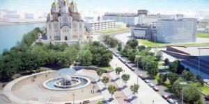 В России стартовал флешмоб #ХрамСердцеГорода в поддержку строительства Храма святой Екатерины в Екатеринбурге