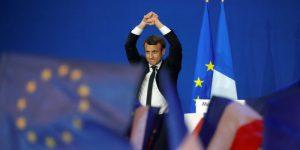 Выборы во Франции. Первый тур: Эмманюэль Макрон