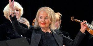 Коллектив «Вивальди-оркестра» поздравил с юбилеем Владимир Путин
