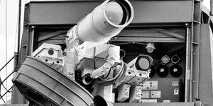 Лазерные пушки ХХI века уязвимы для обычных радиопомех
