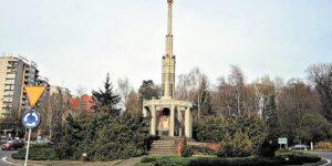 В Польше сносят Колонну Победы у мемориала советским воинам, павшим за освобождение страны от нацистов