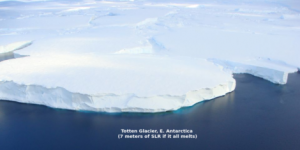 Антарктический ледник Тоттена превратится в айсберг и затопит мир