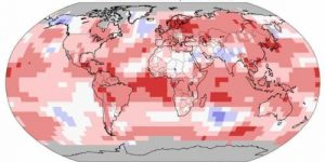 NOAA объявила январь самым тёплым за всю историю