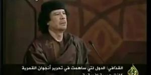 Из выступления Муаммара Каддафи на саммите Лиги арабских государств в Сирии в 2008 г.