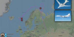Угроза президенту: российские Ту-160 держали на прицеле Лондон в ответ на появление B-52 в Черном море