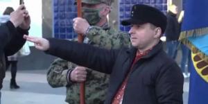 В центре Киева прошло шествие в честь дивизии СС «Галичина»