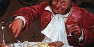 """А.Чехов о застолье в России. """"Неправильно ныне мы обедаем, голубчик"""""""