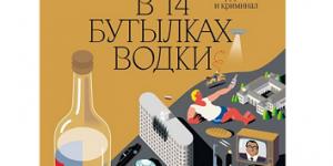 «Новейшая история России в 14 бутылках водки».