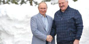 В Сочи состоялась встреча Путина и Лукашенко