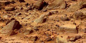 Атмосфера на Марсе исчезла из-за солнечного ветра