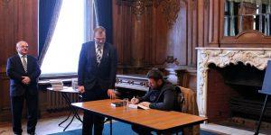 Пётр Мультатули представил в Санкт-Петербурге новую монографию «Николай II — человек и монарх»