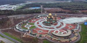 Главный храм Вооруженных сил откроют 22 июня. Видео