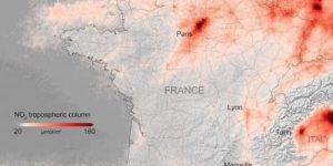 Коронавирус уменьшил загрязнение воздуха в Европе